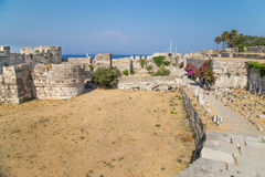 Ancient ruins in Kos, Greece Royalty Free Stock Image