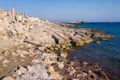 Ancient ruins on Kos, Greece. Royalty Free Stock Images