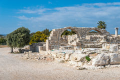 Ancient ruins at Kourion, southern Cyprus Stock Images