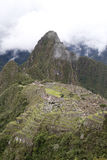 Ancient ruins of Machu Picchu Royalty Free Stock Photography