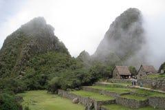 Ancient ruins of Machu Picchu Royalty Free Stock Photo
