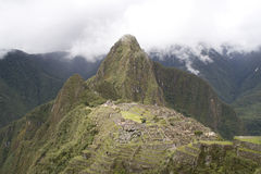 Ancient ruins of Machu Picchu, Peru Stock Images