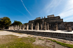 Ancient Mayan city - Chichen Itza Stock Image