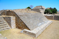 Ancient Ruins, Mexico. The ancient ruins of Monte Alban - Oaxaca, Mexico Stock Photography