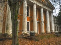 Ancient ruins of military base Royalty Free Stock Image