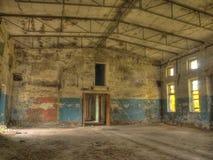 Ancient ruins of military base Stock Photos