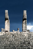 Ancient ruins near Chichen Itza Mexico Royalty Free Stock Photos