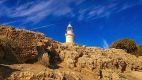 Ancient ruins near Pathos stock images