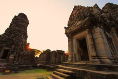 Ancient ruins in North Eastern Thailand Stock Photos