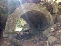 Ancient ruins of Olimpos Stock Photo