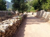 Ancient ruins of Olimpos Stock Photography