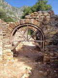 Ancient ruins of Olimpos Royalty Free Stock Photography