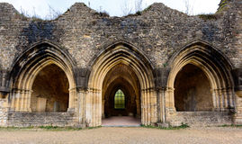 Ancient ruins of Orval Royalty Free Stock Photos