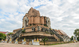 Ancient an ruins pagoda in Chiang Mai, Thailand Stock Photography