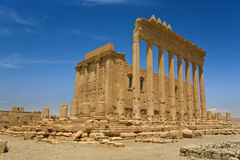 The ancient ruins of Palmyra Royalty Free Stock Photo