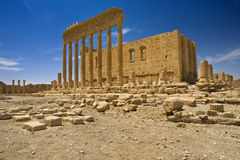 The ancient ruins of Palmyra Royalty Free Stock Photos