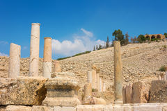 Ancient ruins of Pella Jordan Stock Images