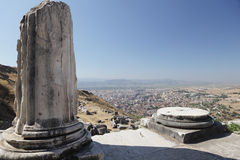 Ancient ruins of Pergamon Stock Photography