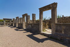 Ancient ruins of Perge. Royalty Free Stock Photos