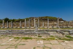 Ancient ruins of Perge. Stock Photography