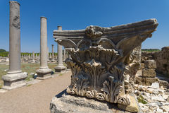 Ancient ruins of Perge. Royalty Free Stock Image