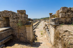 Ancient ruins of Perge. Stock Images