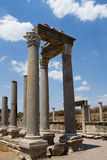 Ancient Ruins Perge Turkey Stock Photos