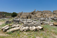 Ancient ruins of Perge. Stock Image