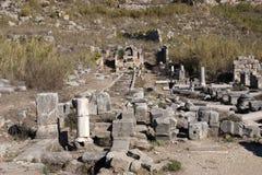Ancient Ruins Perge Turkey Royalty Free Stock Photos