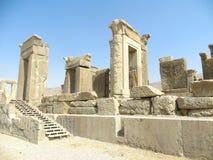Ancient ruins. In Persepolis, Iran Royalty Free Stock Photos