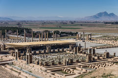 Ancient ruins of Persepolis, Iran. Ancient ruins of Persepolis, the most important city of old Persia. Iran, 2016 Royalty Free Stock Photo