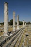 Ancient ruins of Philippi stock photo