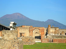 Ancient ruins of Pompeii Royalty Free Stock Image