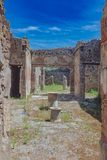 Ruins of Pompeii, italy royalty free stock image