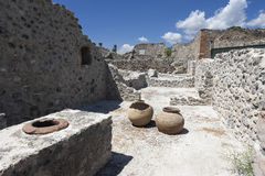 Ancient Ruins Of Pompeii Royalty Free Stock Photo