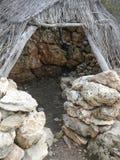 Puig de sa Morisca (Moorish Peak) archaeological park in Majorca. Ancient ruins in Puig de sa Morisca (meaning Moorish Peak) archaeological park in Majorca Royalty Free Stock Photo