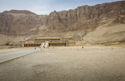 Ancient ruins of Queen Hatshepsut Temple, Luxor, Egypt Stock Photography