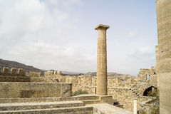 Ancient ruins royalty free stock photography