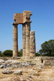 Ancient ruins - Rhodes, Greece stock images
