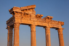 Ancient ruins of Roman Empire Royalty Free Stock Images