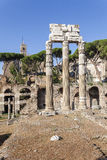 Ancient ruins of the Roman Forum Royalty Free Stock Photos