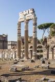 Ancient ruins of the Roman Forum Stock Photos