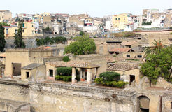 Ancient ruins of the Roman Herculaneum, Italy Stock Photo