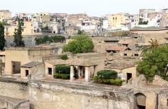 Ancient ruins of the Roman Herculaneum, Italy Stock Photo