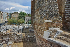 Ancient ruins of Roman Odeon, Patras, Peloponnese, Greece Stock Photography