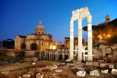 Ancient ruins - Rome Stock Photography