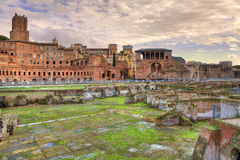 Ancient ruins. Rome, Italy. Royalty Free Stock Photos