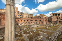Ancient ruins in Rome Royalty Free Stock Images