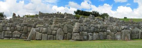 Ancient ruins of Sacsayhuaman Stock Photos