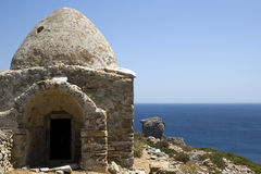 Ancient ruins of Saria Island - Karpathos Stock Photo